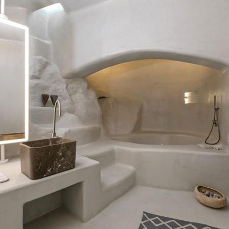 built shower very luxurious