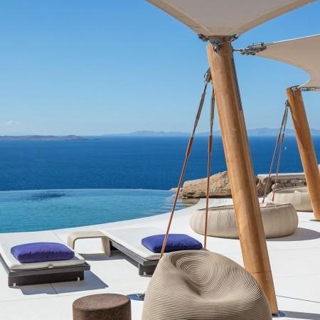 Villa Mozart luxury rental in Mykonos