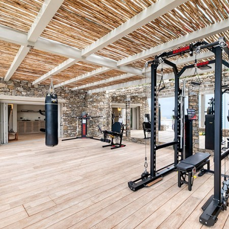 outdoor private gym