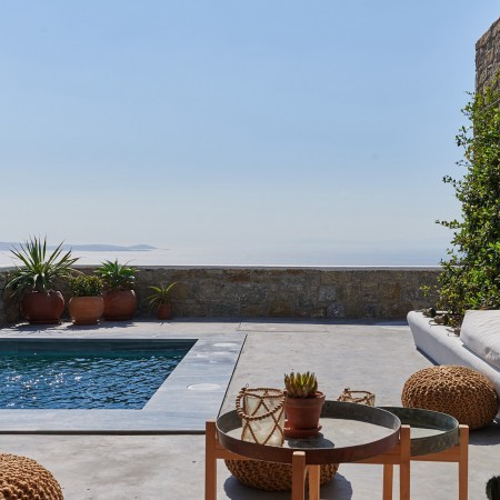 Mykonos villa with 4 bedrooms