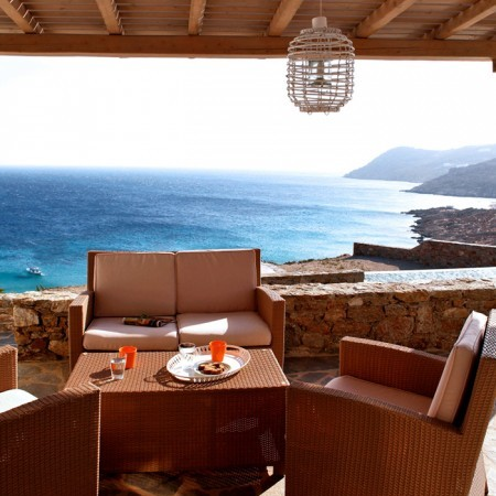 amazing sea view mykonos