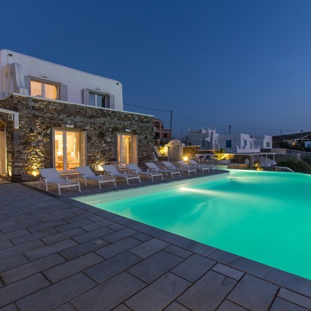 endless view villa night