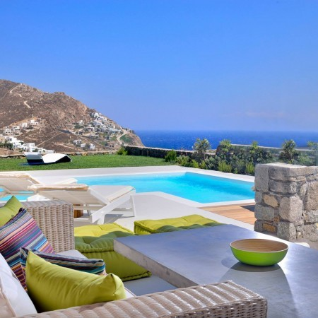 Mykonos villas for rent Elia