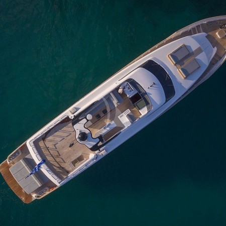 Project Steel Yacht aerial shot