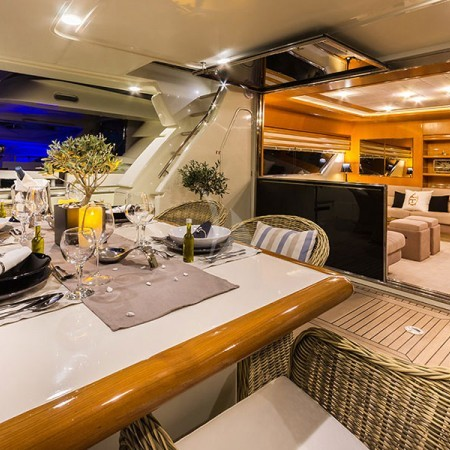 Ferretti yacht Greece