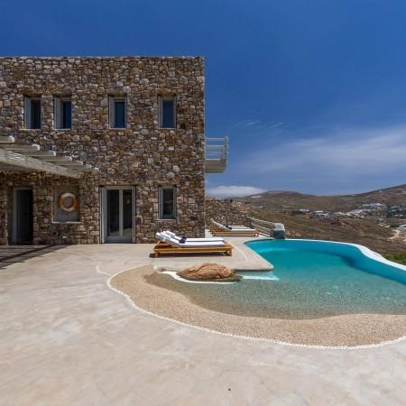 Luxury Villa for Rent Agrari Mykonos
