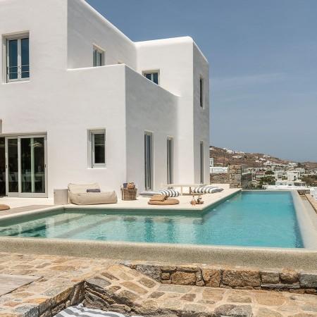 mykonos vacation rental at Ornos beach