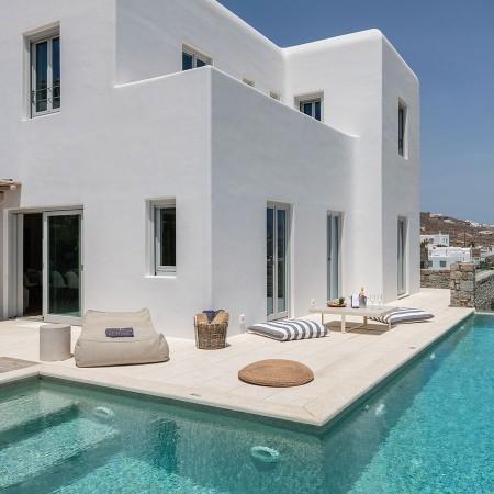 myconos house for rent near Ornos beach