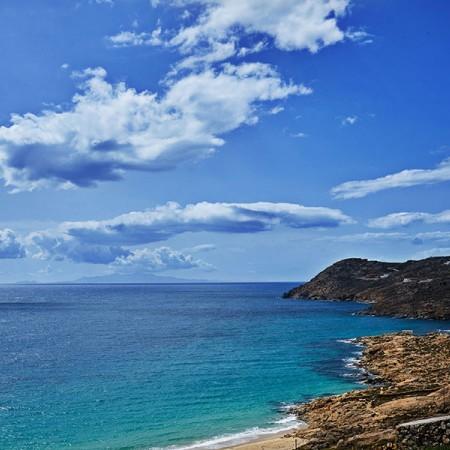 Elia beach in a short distance