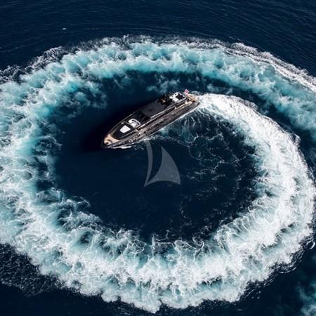 Baglietto super yacht charter
