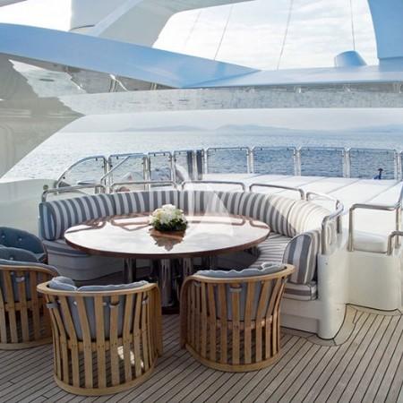 Alexandra yacht deck
