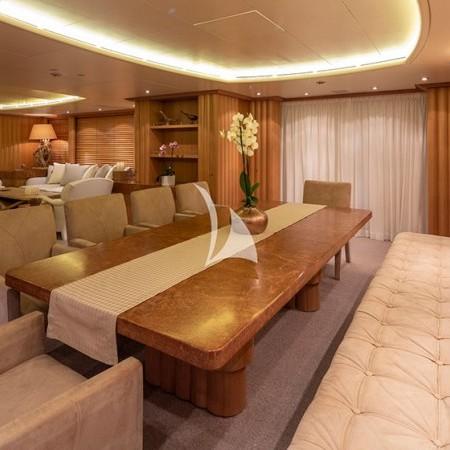 Alexandra yacht living area