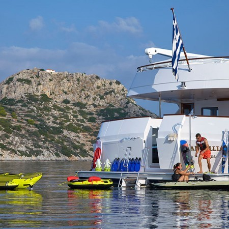 Ancallia Yacht water toys