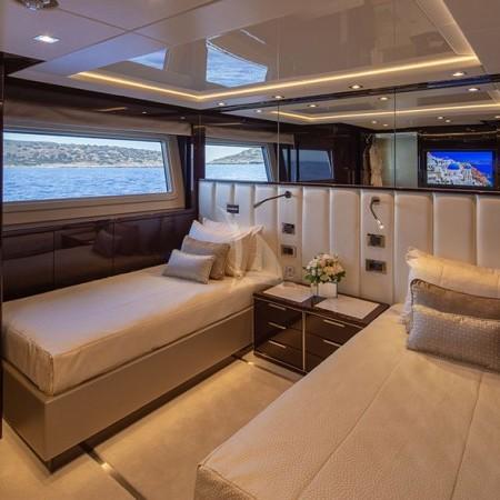 Aqua Libra 131 Yacht cabin
