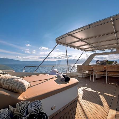aquila yacht deck