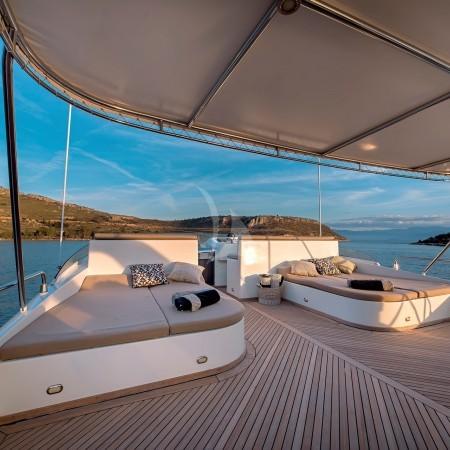 aquila superyacht deck lounge