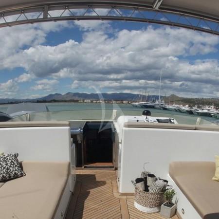aquila superyacht lounging area