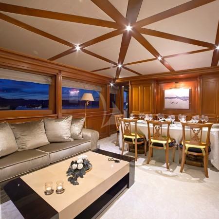 aquila yacht main salon interior