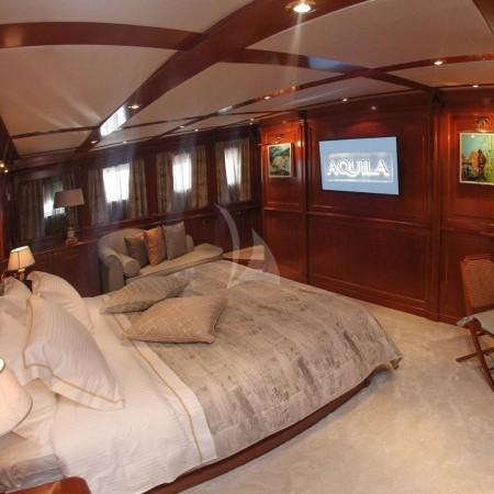 aquila superyacht cabin