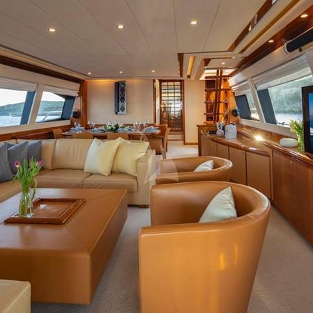 Astarte yacht interior