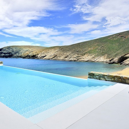 villa with beach access Mykonos