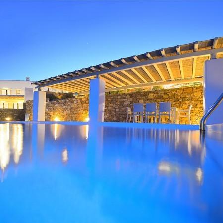villa with beach access Mykonos