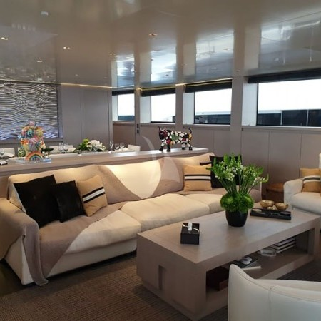 Billa yacht interior space