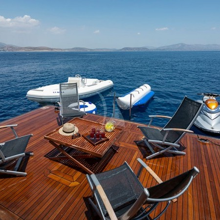 billa superyacht water toys