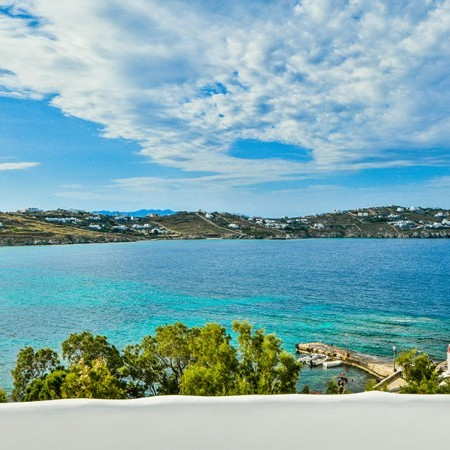 Mykonos Villa for rent in Agios Ioannis beach