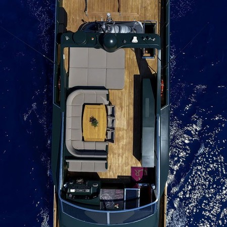 can't remember yacht aerial view