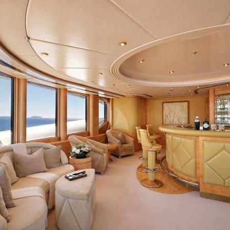 capri i yacht interior