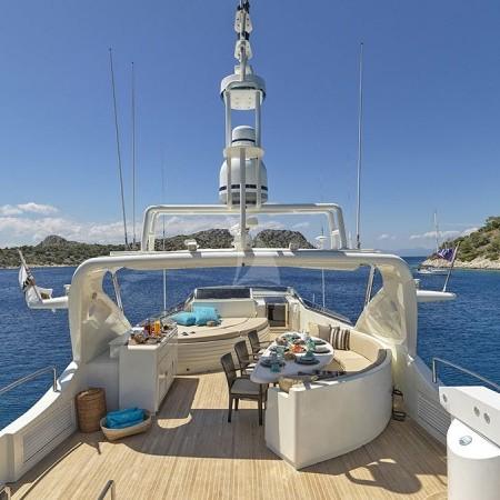 Celia yacht flybridge