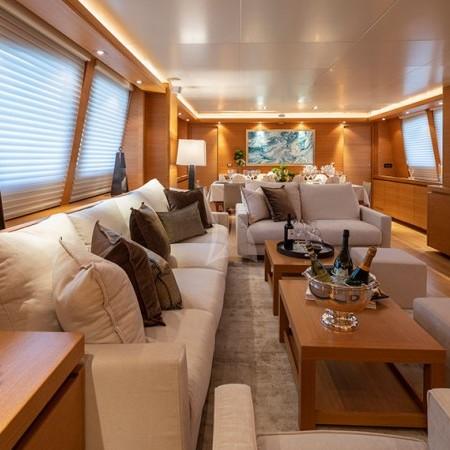 Celia luxury yacht interior