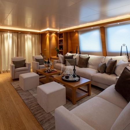 Celia yacht interior