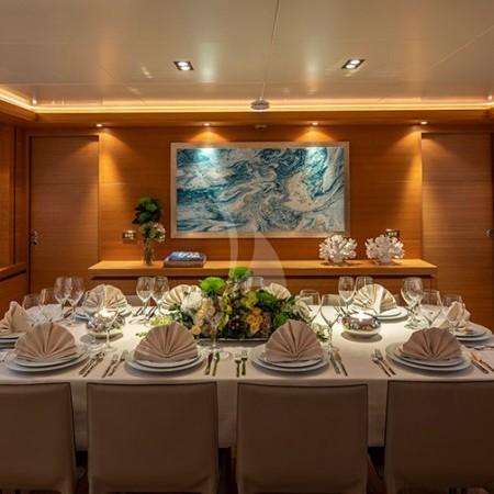 Celia luxury yacht cabin