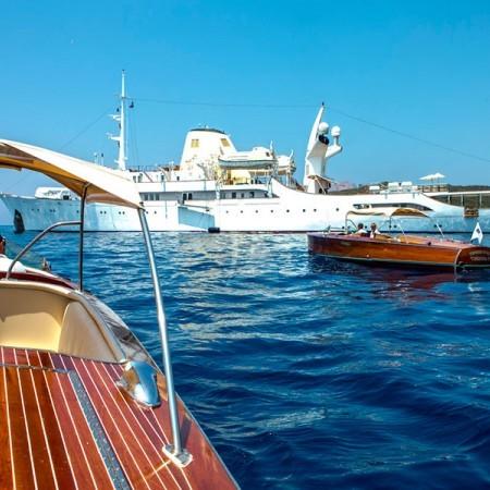 Christina O yacht Greece event charter