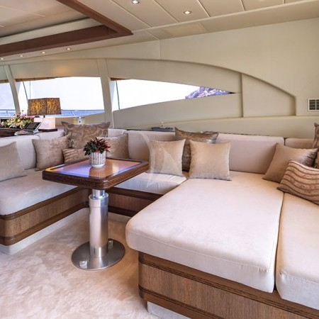 cosmos I yacht living area