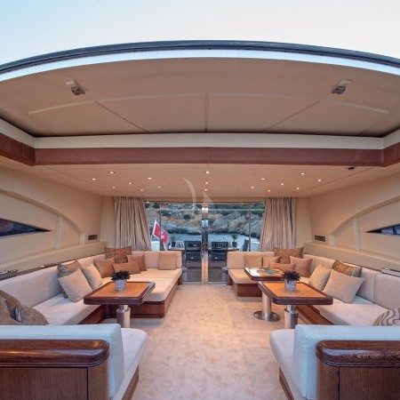 cosmos I yacht interior