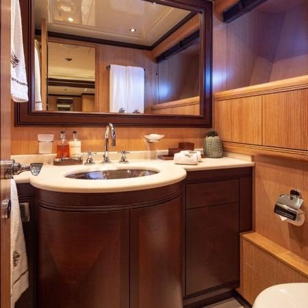 cosmos I yacht bathroom