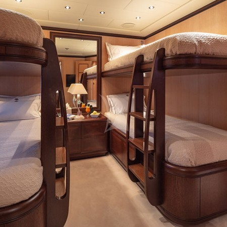 cosmos I yacht twin cabin