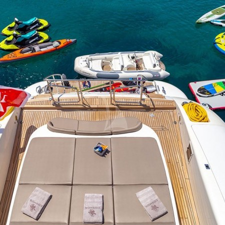 cosmos I yacht water toys and equipment