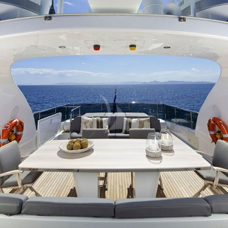 cudu yacht deck