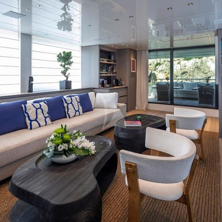 Dinaia yacht interior