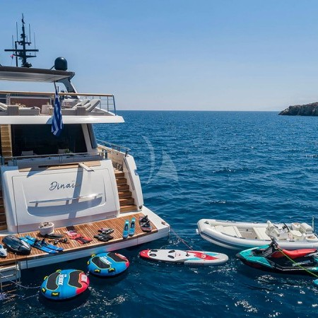 Dinaia yacht water toys