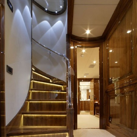 dragon yacht indoor living
