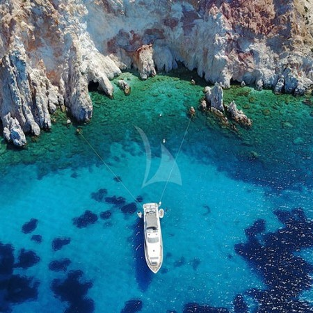 Dragon - luxury yacht charter Greece