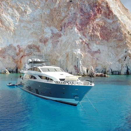 Dragon - luxury yacht charter Mykonos