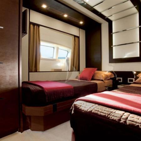 duke yacht cabin