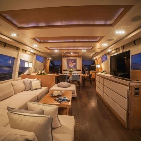 eleven I yacht interior