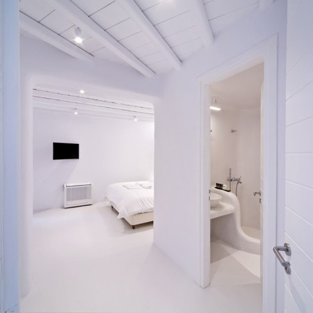 bedroom with ensuite bathroom